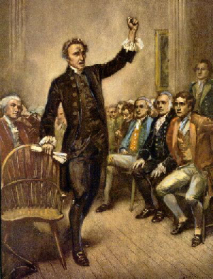 patrick henry s thesis in his give me liberty or give me death speech